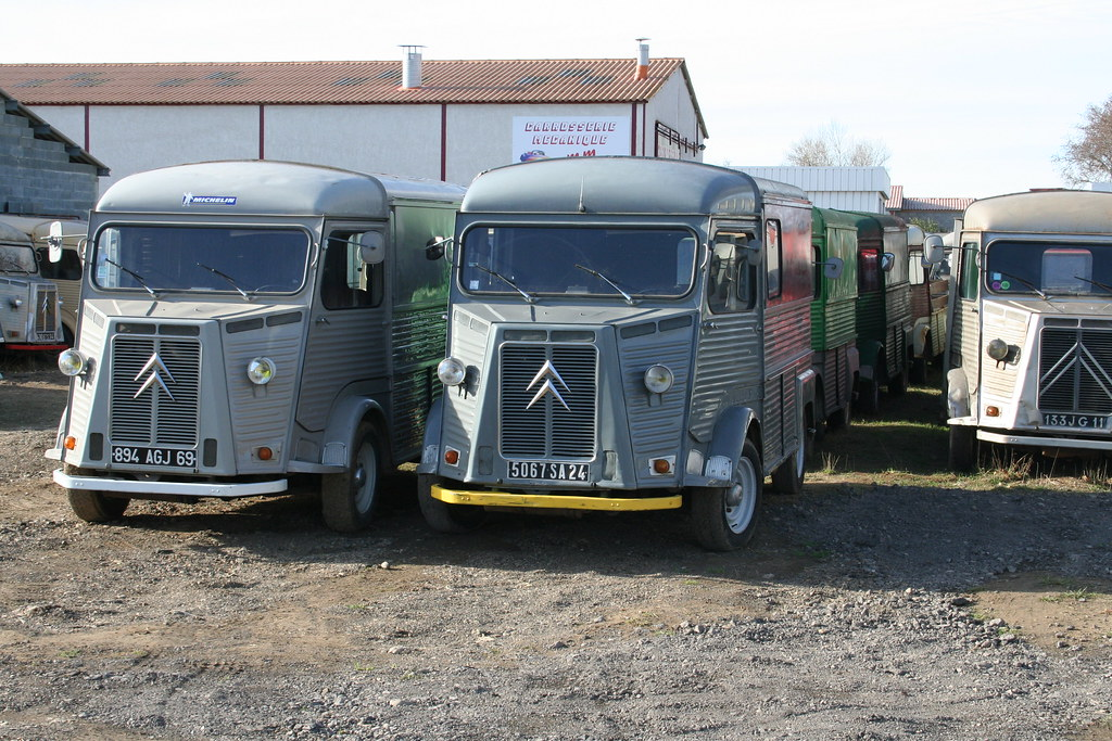 Citroen Food Truck Original Replica Vans From 20k Exw