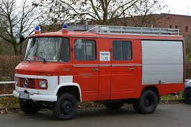 Mercedes Benz Feuerwehr food truck pre conversion