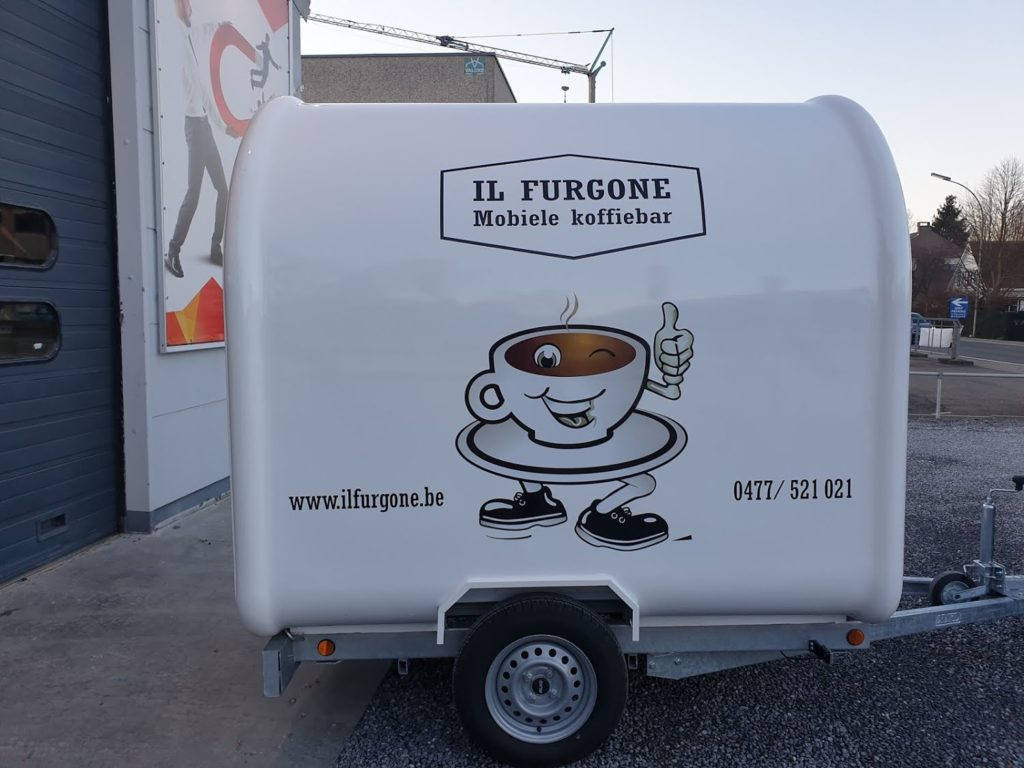 regular roundtop small food trailer 2216 belgian unit coffee