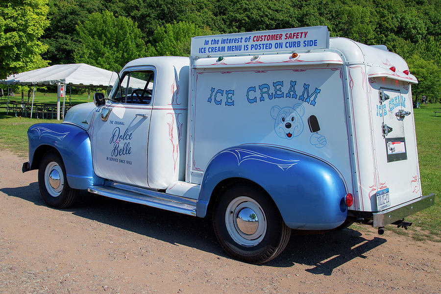 custom vintage ice cream truck