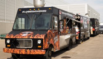 bbq food truck for sale with all onboard bbq cooking
