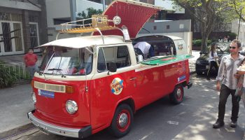 Vintage Food Truck VW Bus food truck VW t1 VW t2