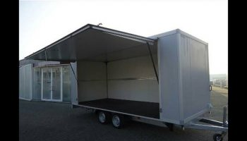 flower truck - flower trailer, practical high quality european flower trailers - Karpatia