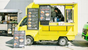 keitora food truck, kei truck food truck, mini food truck