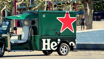 Heineken e-tuk Vendo GT mobile beer cart small beer food truck